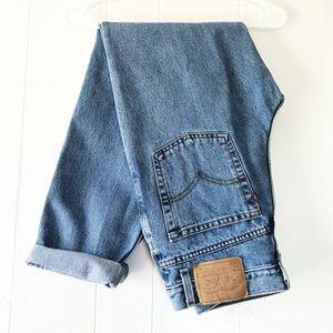 Vintage Levis 512 Tapered Leg High Waist Mom Jeans